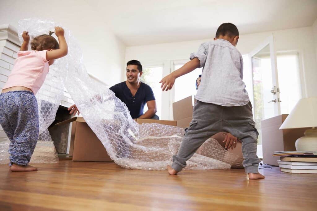 Movus Law family moving house
